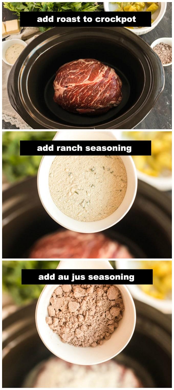 chuck roast in crockpot