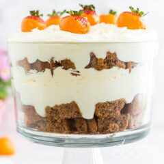 carrot cake trifle side view