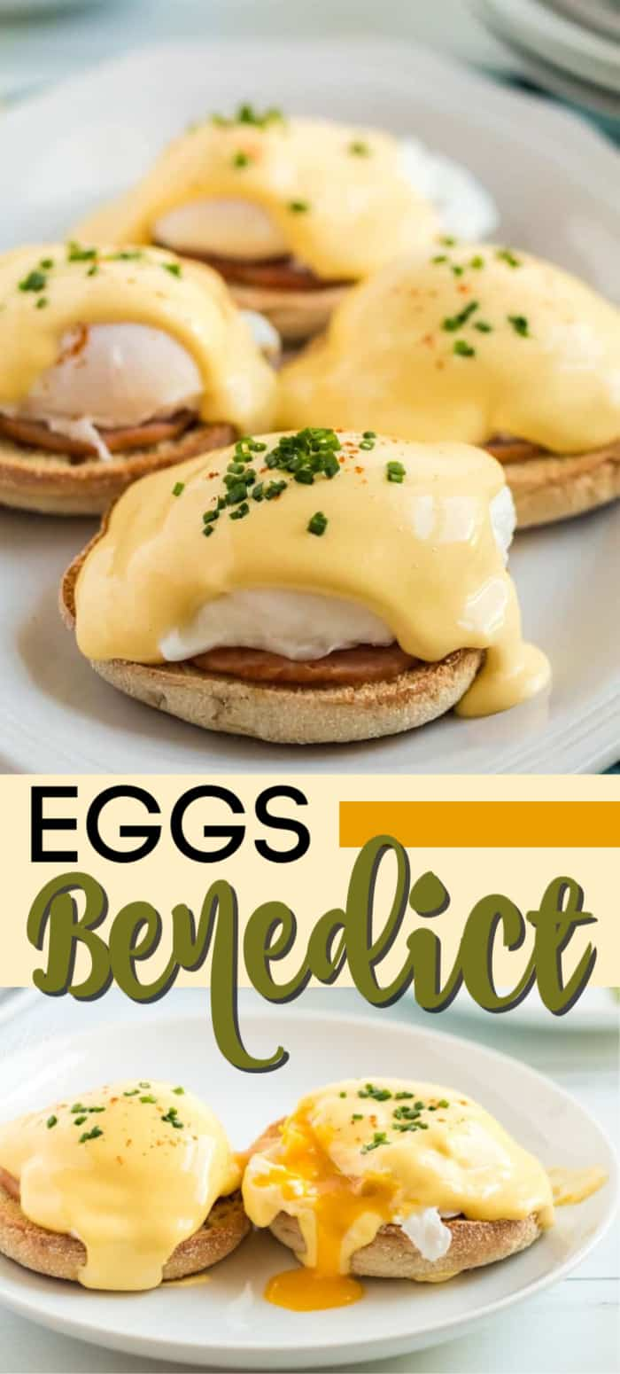 eggs benedict pin image