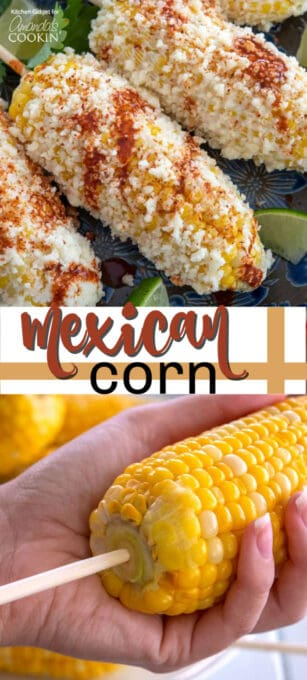 mexican corn pin image