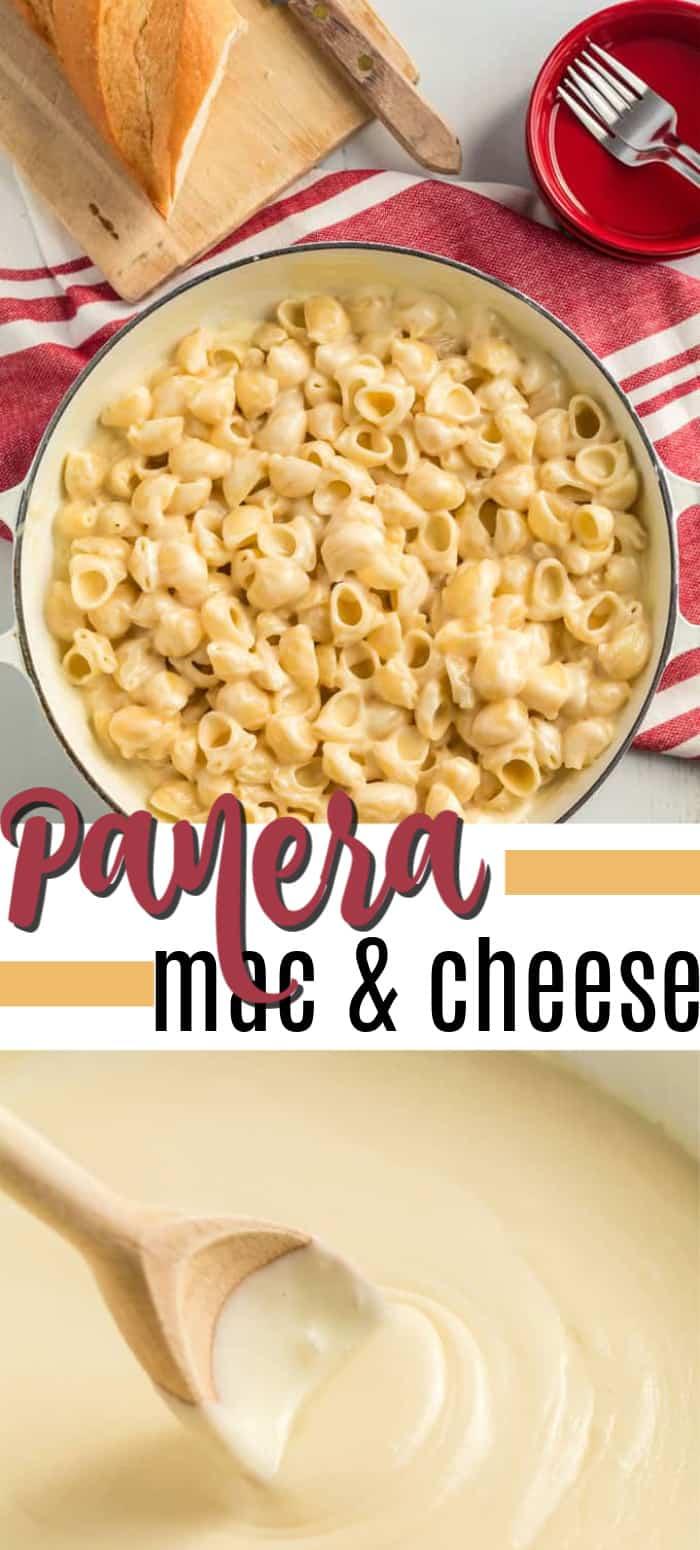 panera mac and cheese pin image