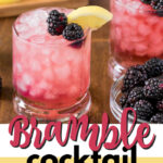 bramble cocktail pin image