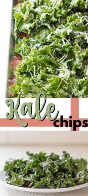 kale chips pin image