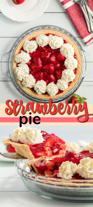 strawberry pie pin image