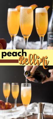 peach bellini pin image