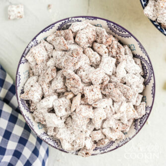 bowl of muddy buddies