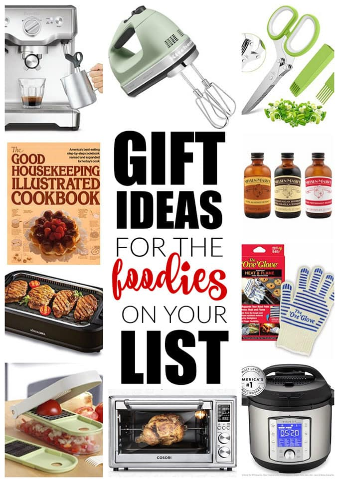 collage of gift guide ideas