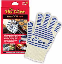 ove glove and packaging