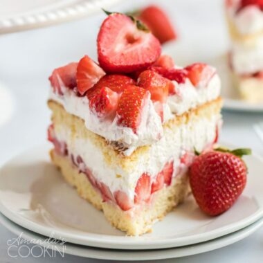 slice of strawberry