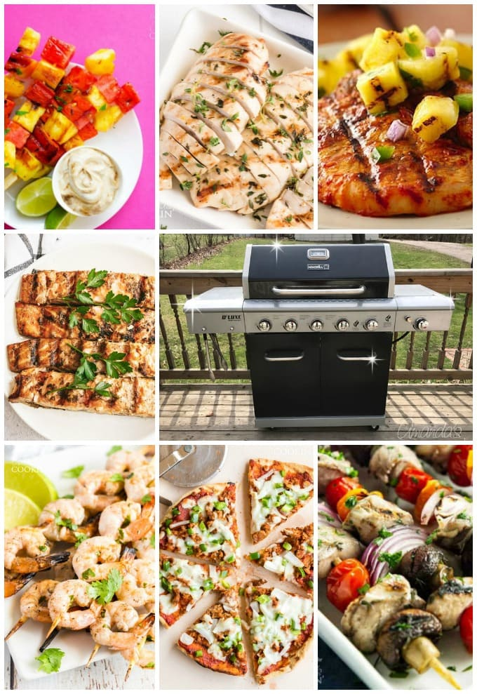 Grill Recipes collage