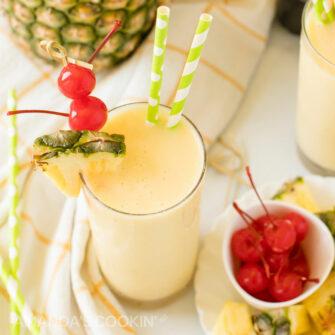 pineapple rum slush