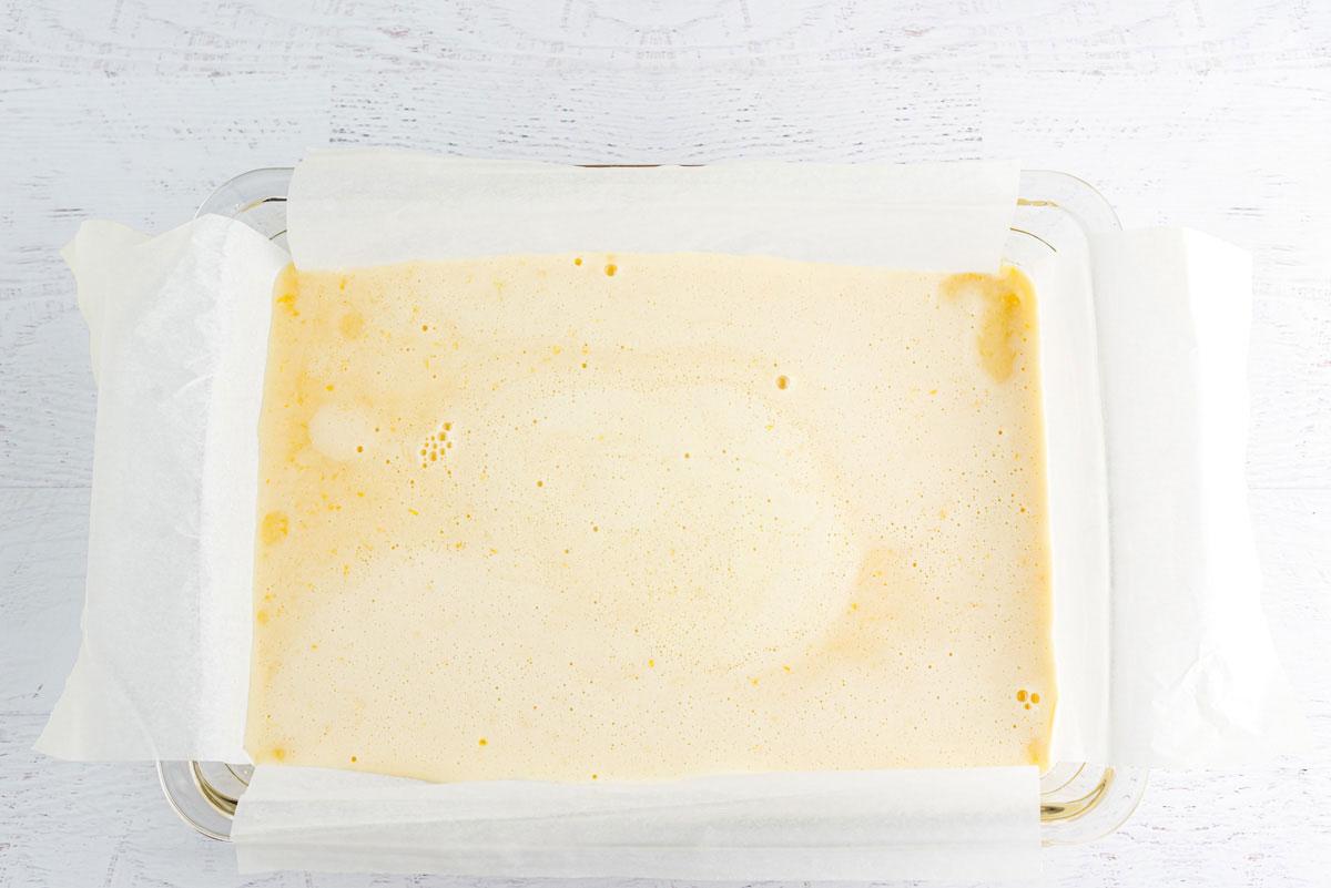 lemon mixture in a pan