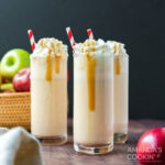 apple cider milkshakes