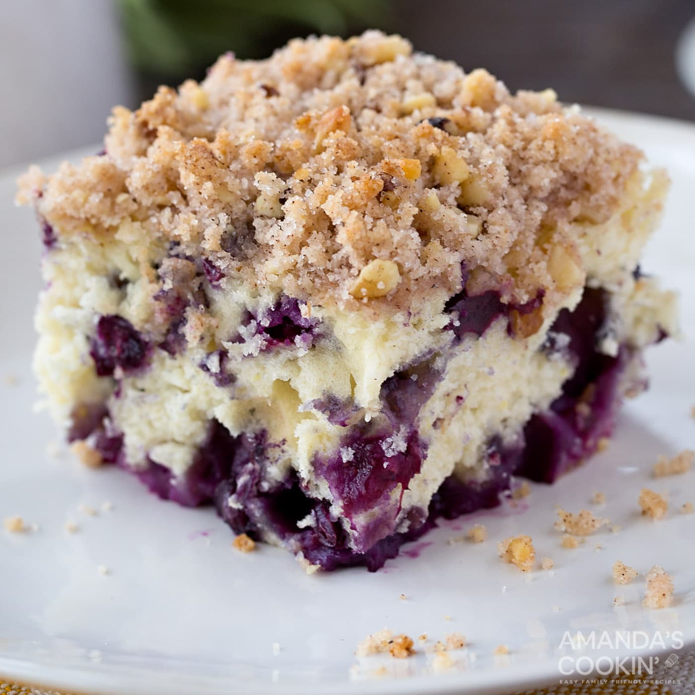 Blueberry Breakfast Cake A Breakfast Packed With Blueberry Delight