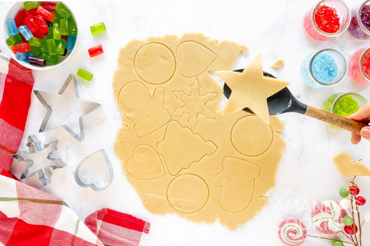 cookie dough cut