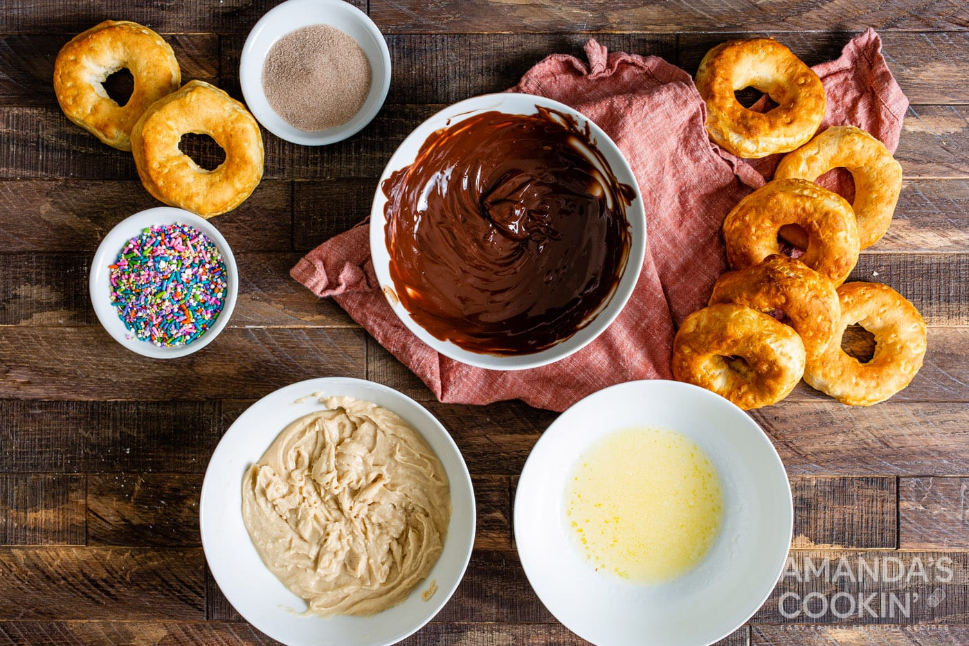 donut toppings in bowl