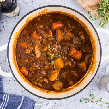 pot of irish stew