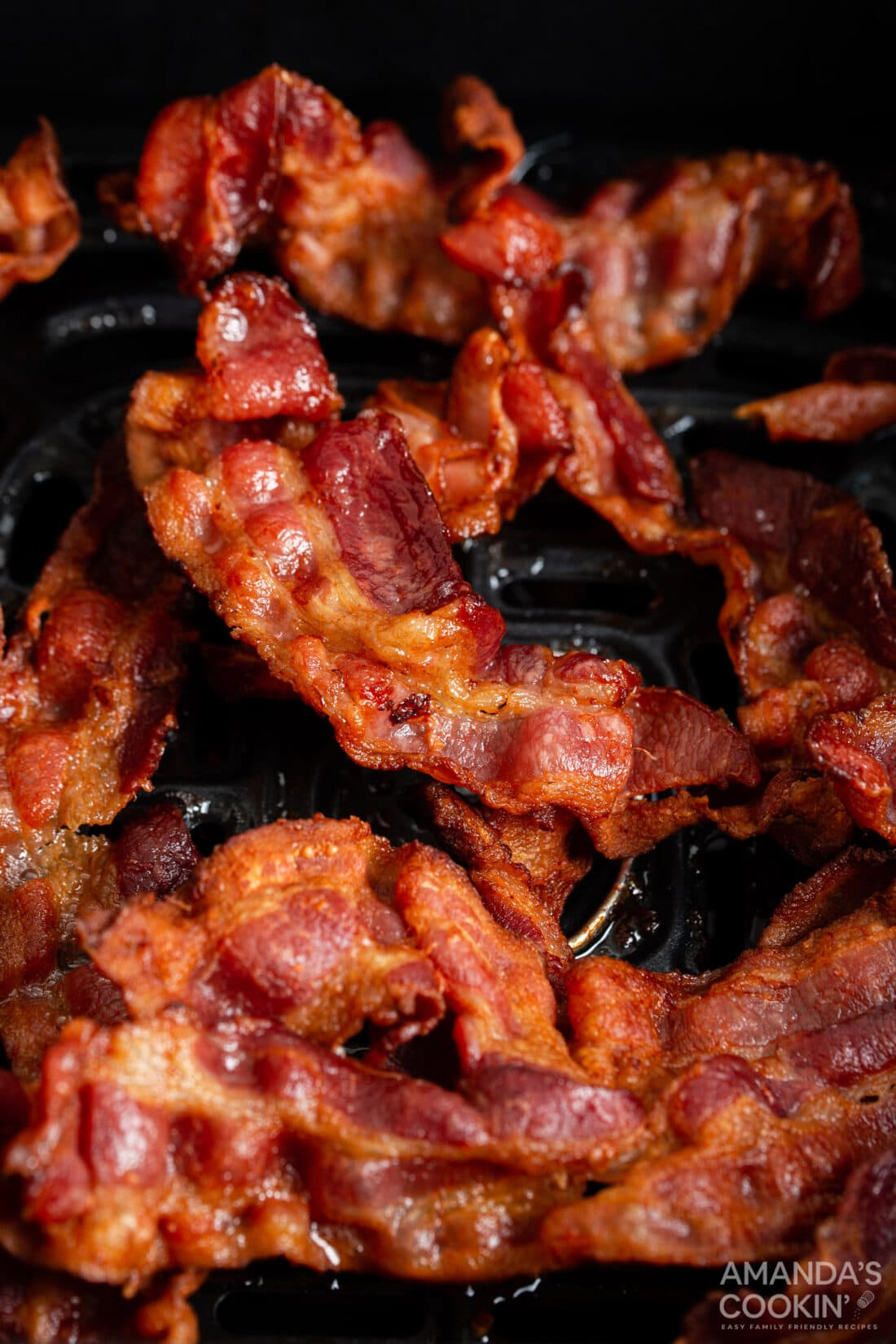 bacon in an air fryer