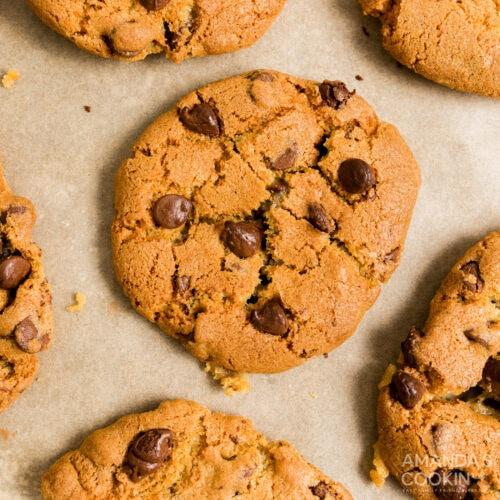 Air Fryer Chocolate Chip Cookies