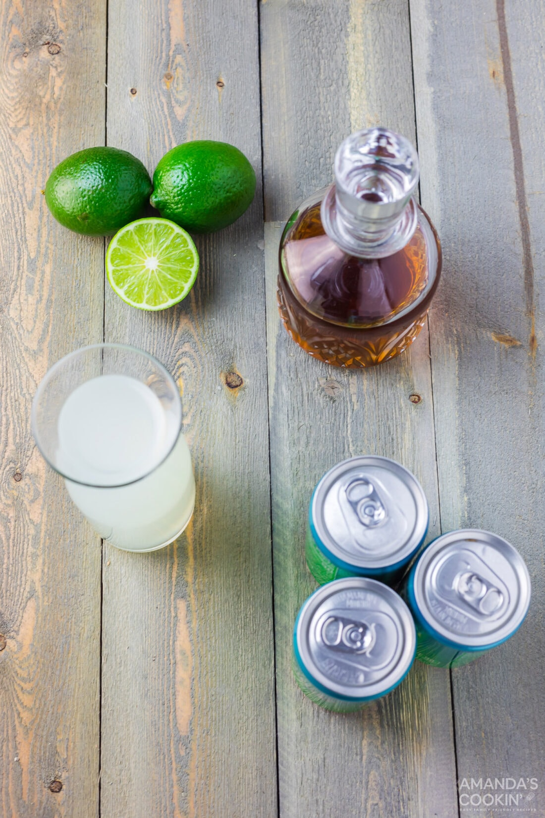 Spiked Limeade ingredients