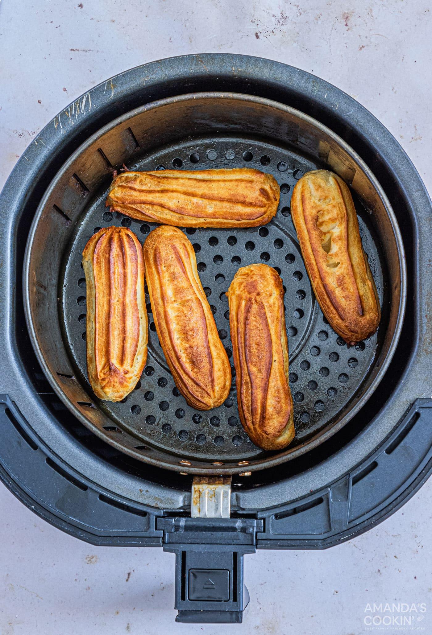 baked churros in air fryer