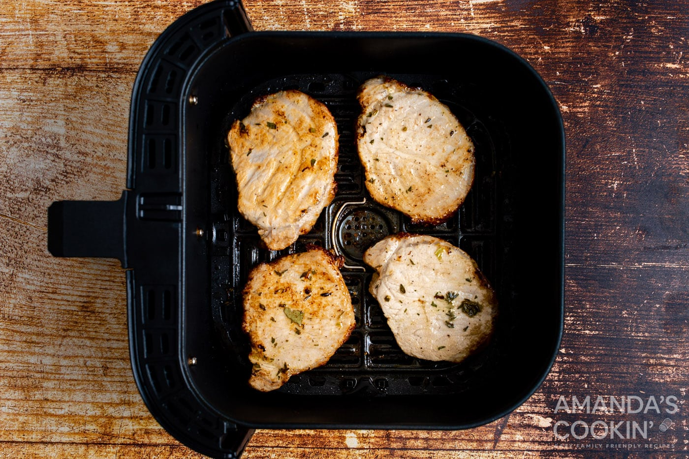 pork chops in the air fryer
