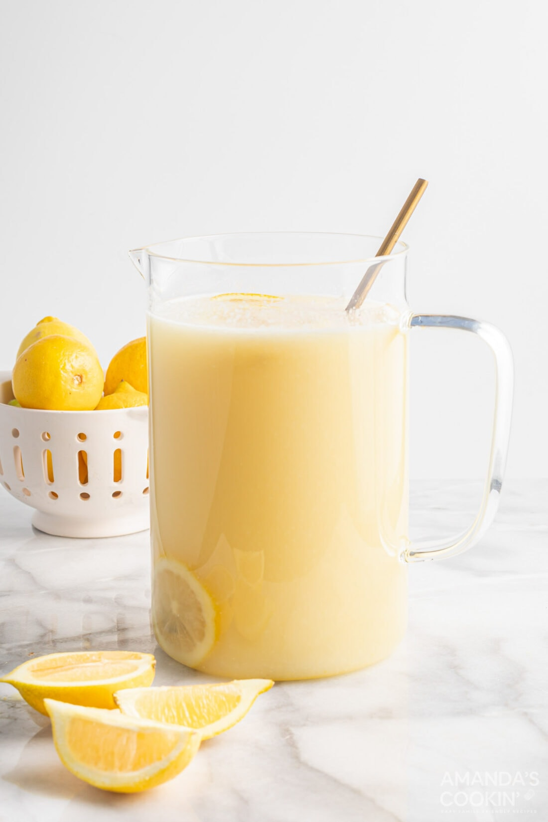 pitcher of Frozen Lemonade
