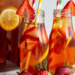 strawberry sweet tea