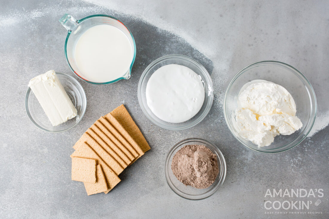 ingredients for frozen smores