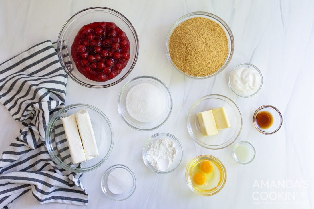 ingredients needed for instant pot cheesecake