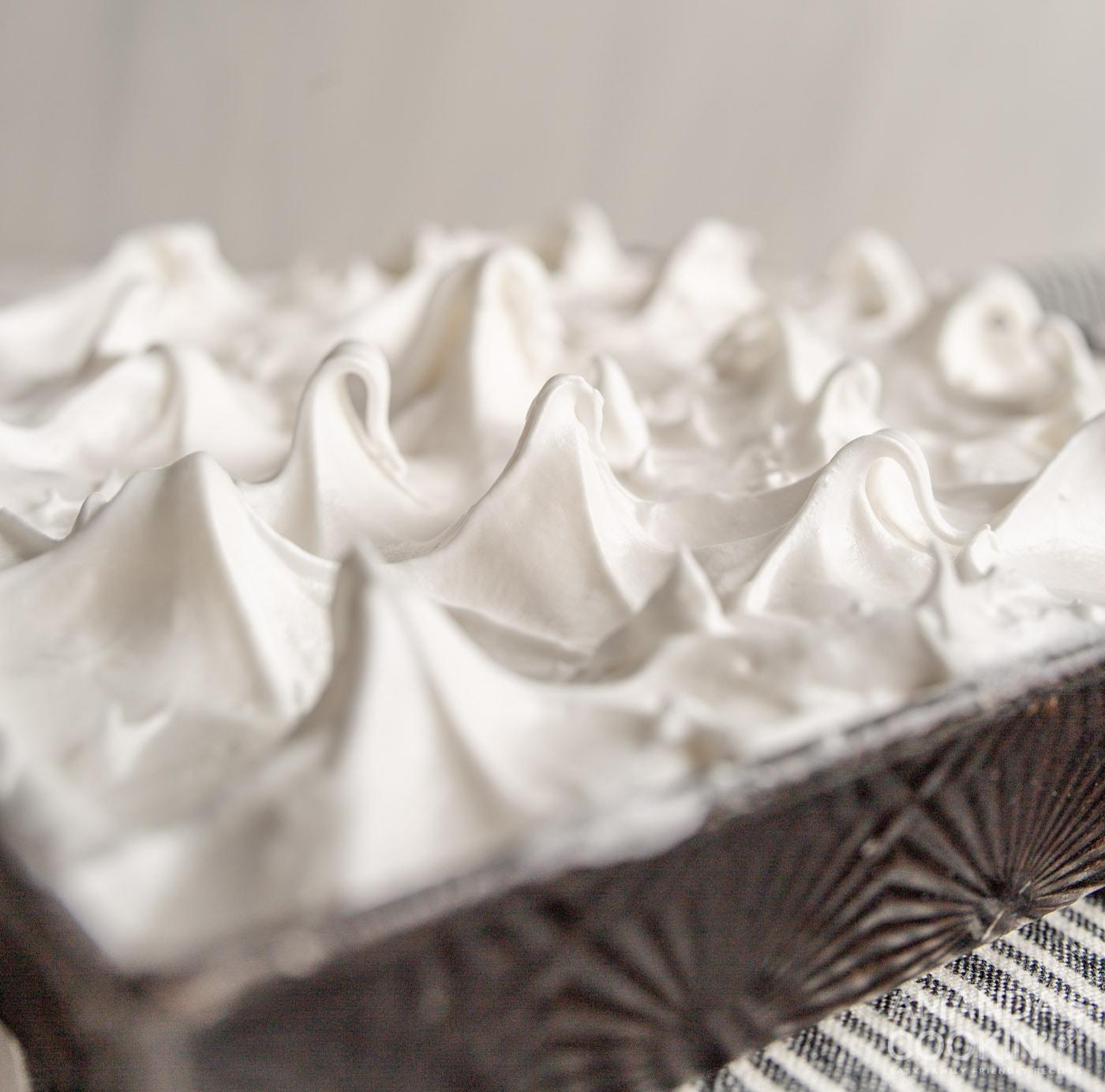 lemon meringue pie peaks