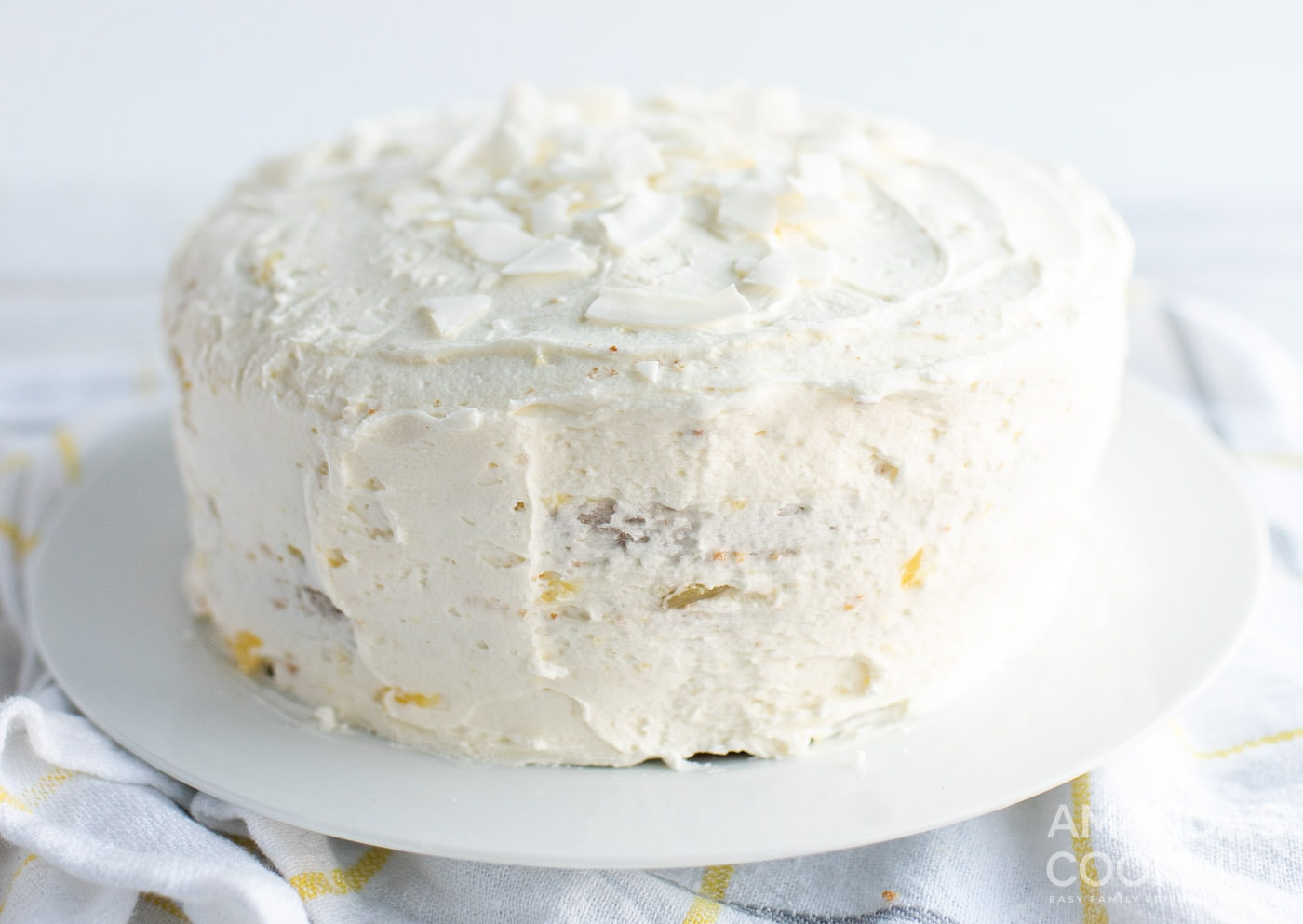frosted pineapple cake