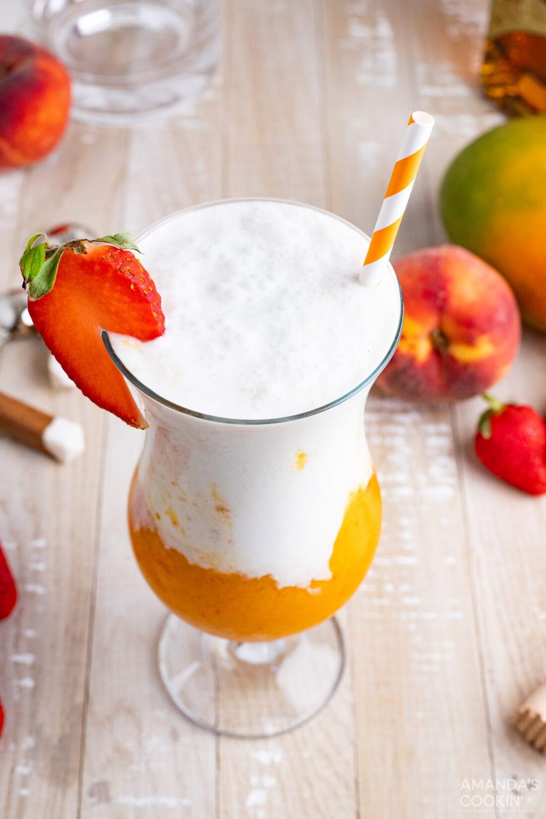 Tropical Rum Slush
