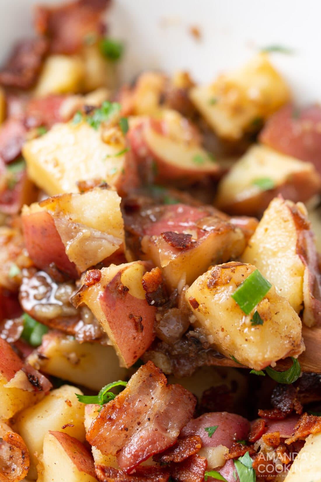 close up of German Potato Salad