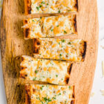 Cheesy Garlic Bread pinterest image