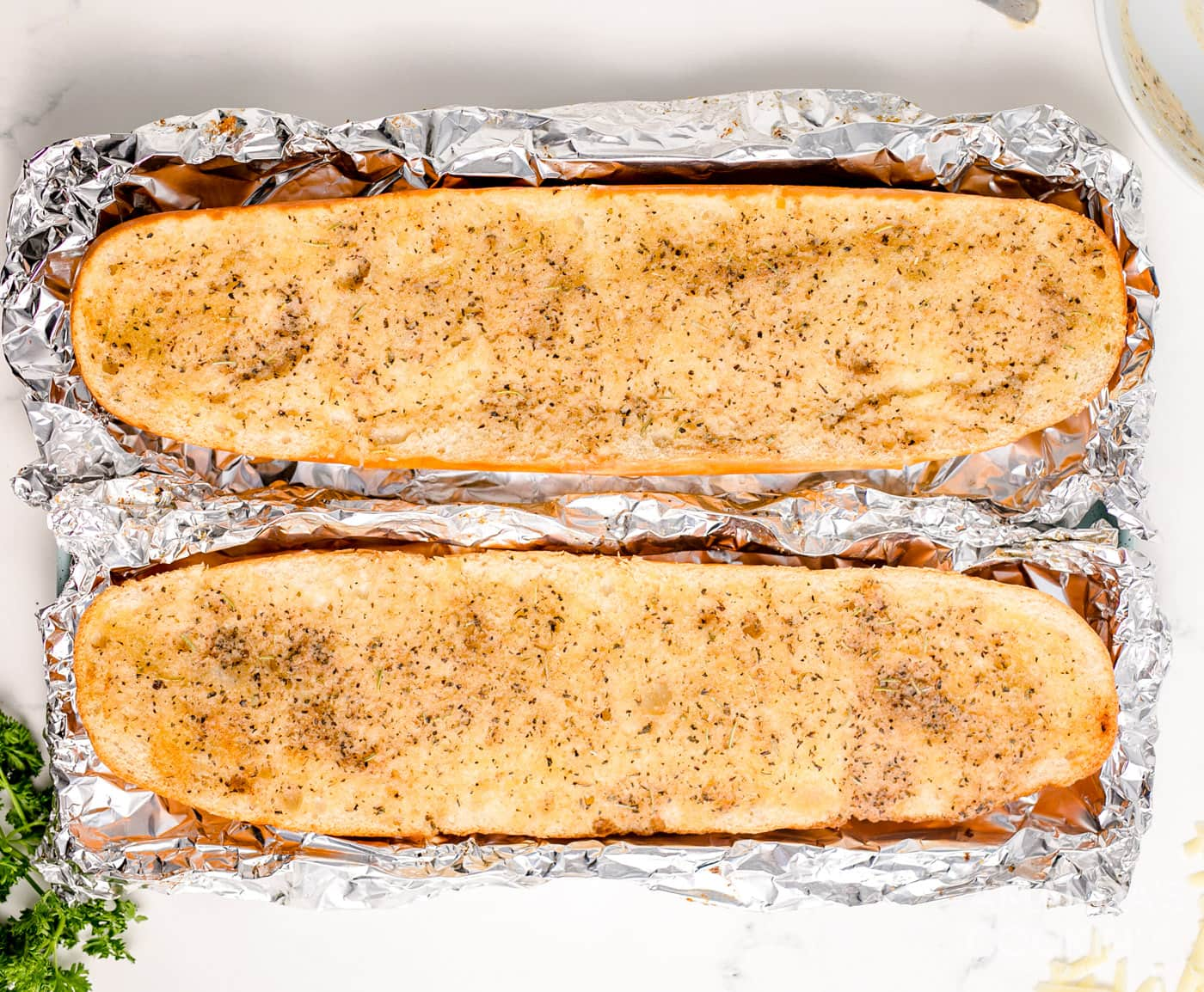 browned french bread
