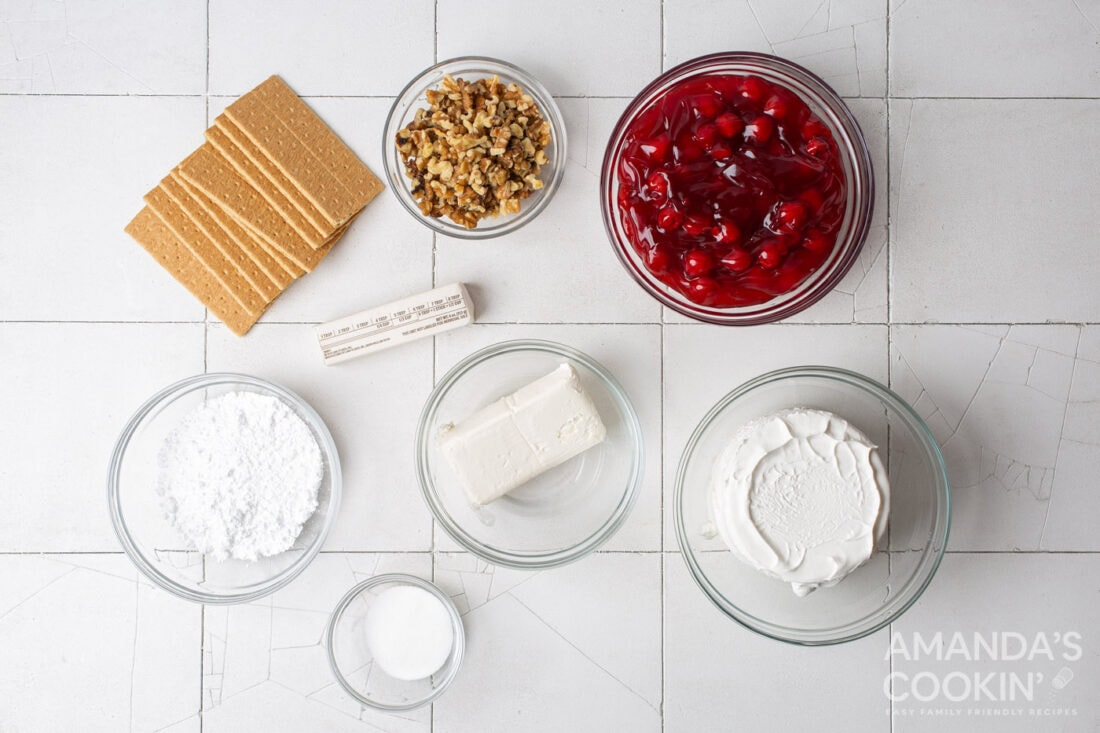 ingredients for cherry lush