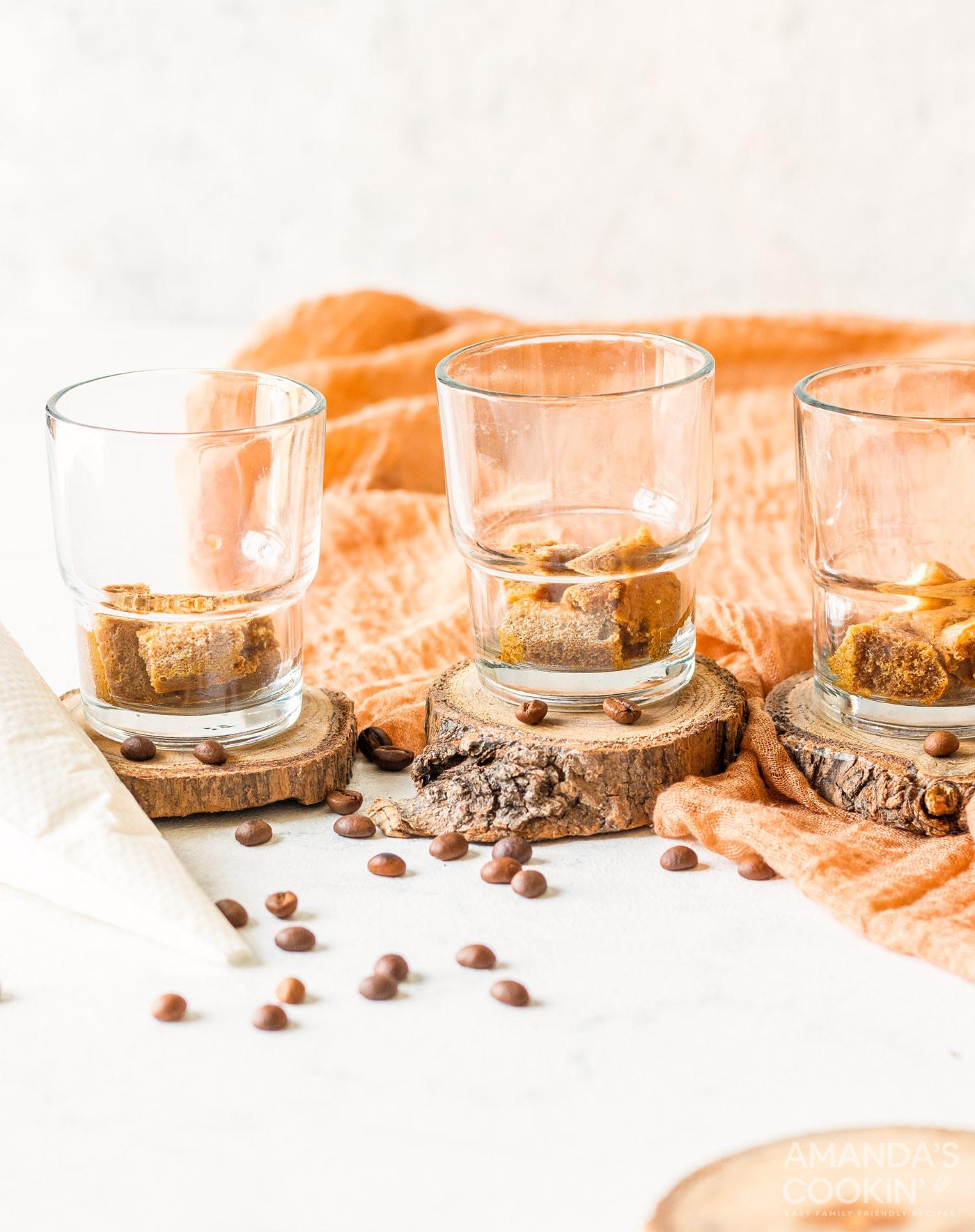 ladyfingers in mini cups