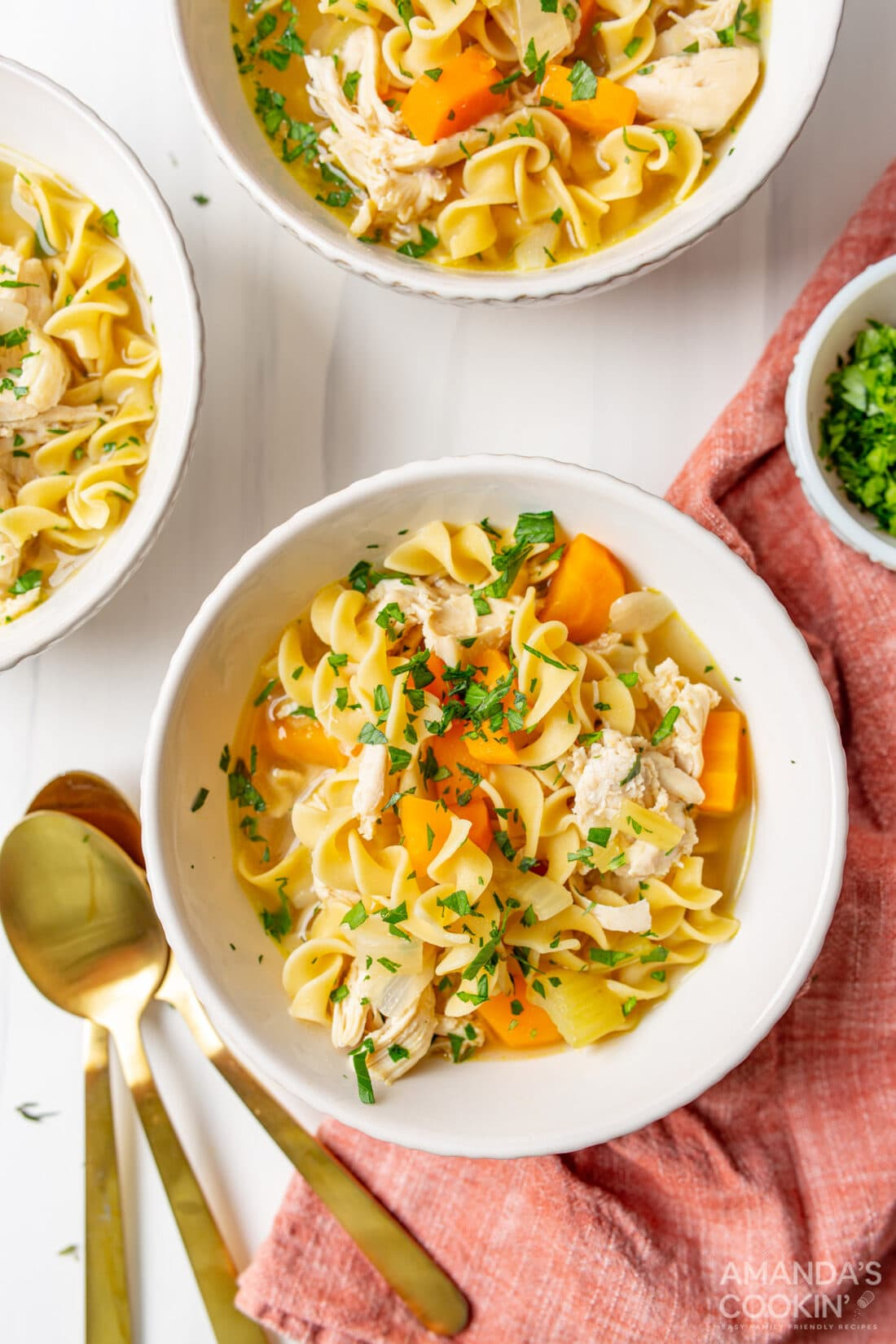 bowl of homemade Chicken Noodle Soup