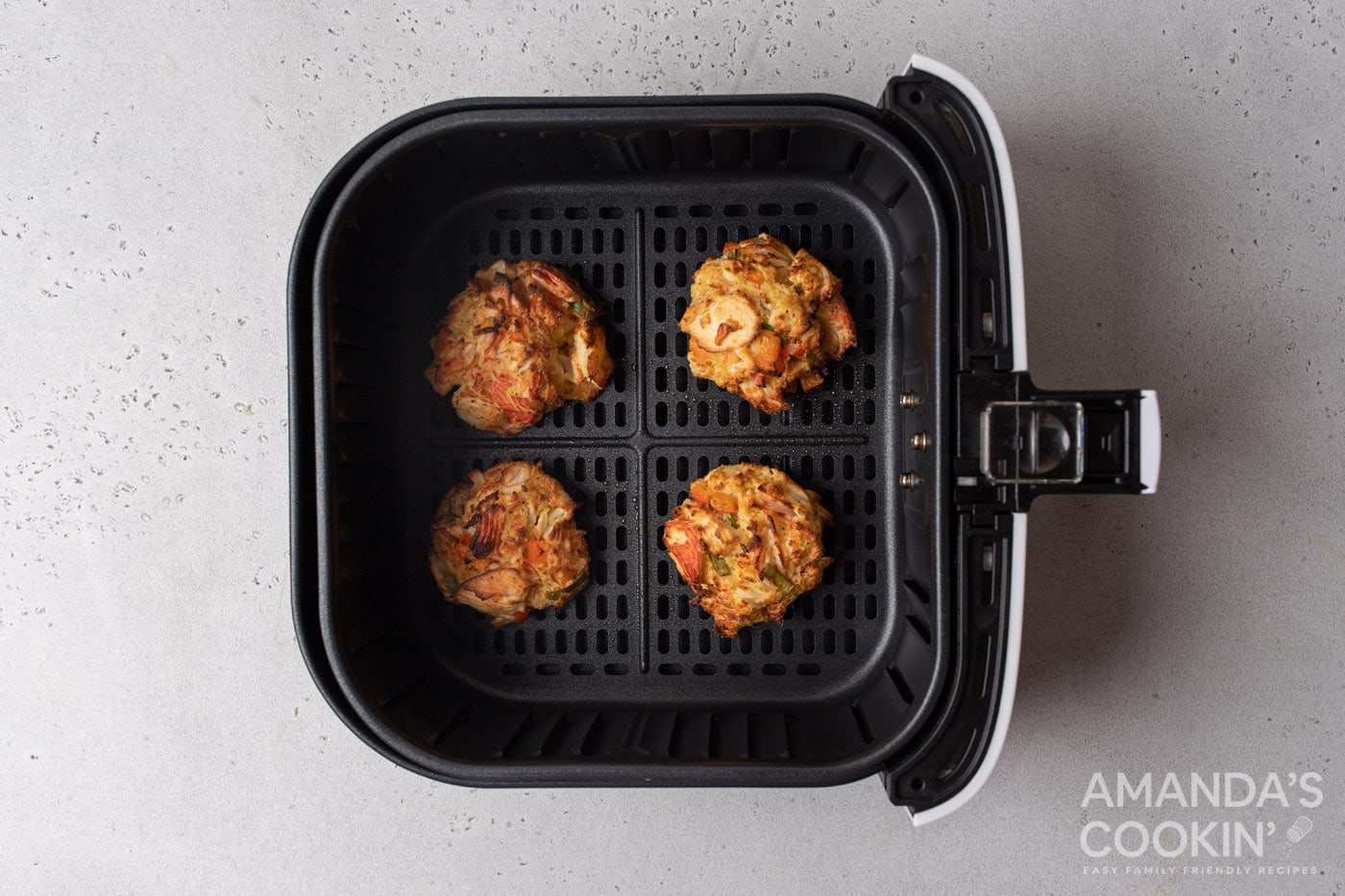 baked air fryer crab cakes