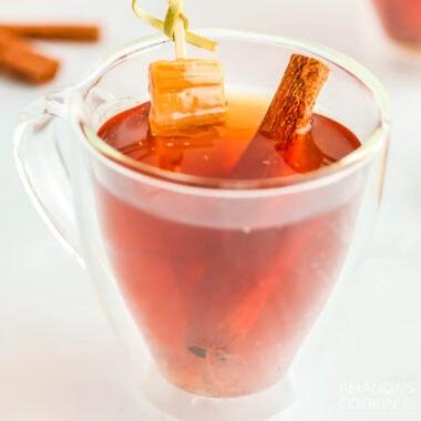 Spiked Caramel Apple Cider