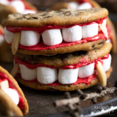 Vampire Sandwich Cookies