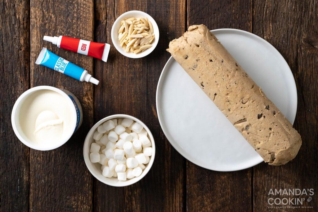 ingredients for Vampire Sandwich Cookies