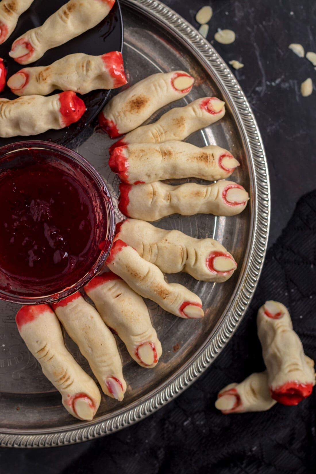 Witch Fingers on a platter