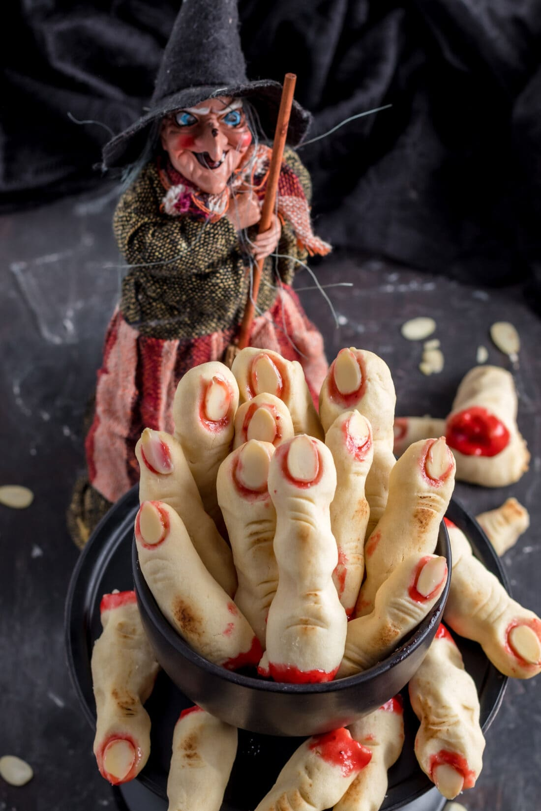 Witch Fingers in a dish