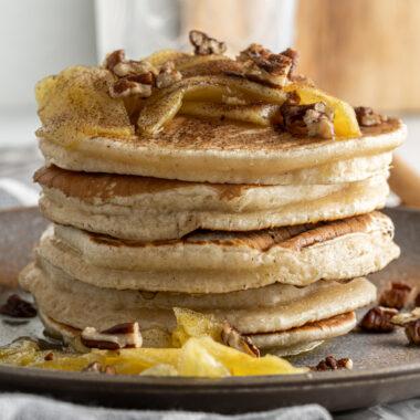 stack of Apple Pancakes